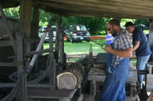 See the sawmill in action!